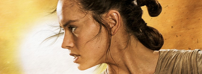 Rey Daisy Ridley star wars actress star wars force awakens cover photo 1