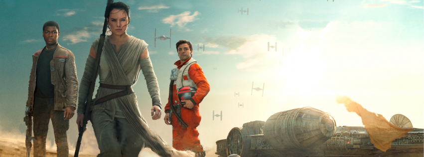 Rey Daisy Ridley star wars the force awakens cover photo