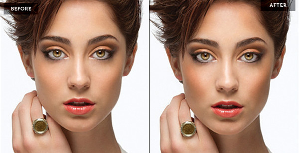 Sculpting the Face by Dodging Burning in Photoshop