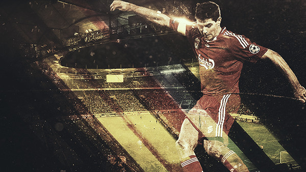 Soccer Sport Event Poster In Photoshop