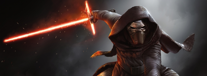 Star Wars Episode VII The Force Awakens Facebook Cover Photo 2