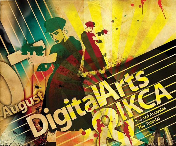 Stencil poster effects in Photoshop
