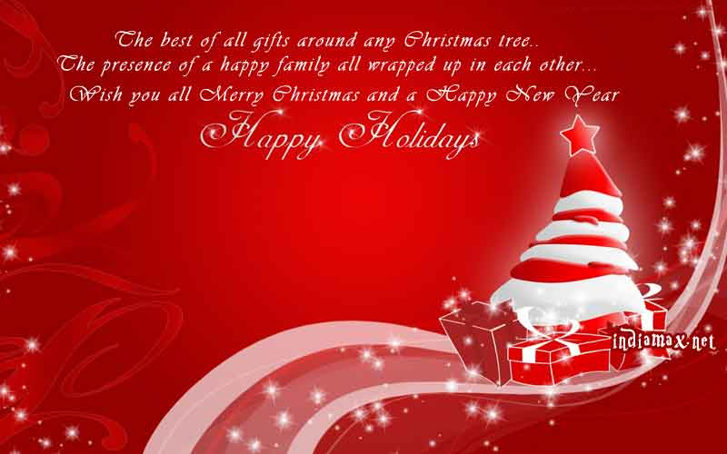 christmas card greetings quotes happy holiday