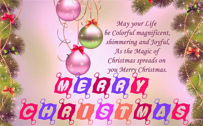 christmas messages blessings greeting card