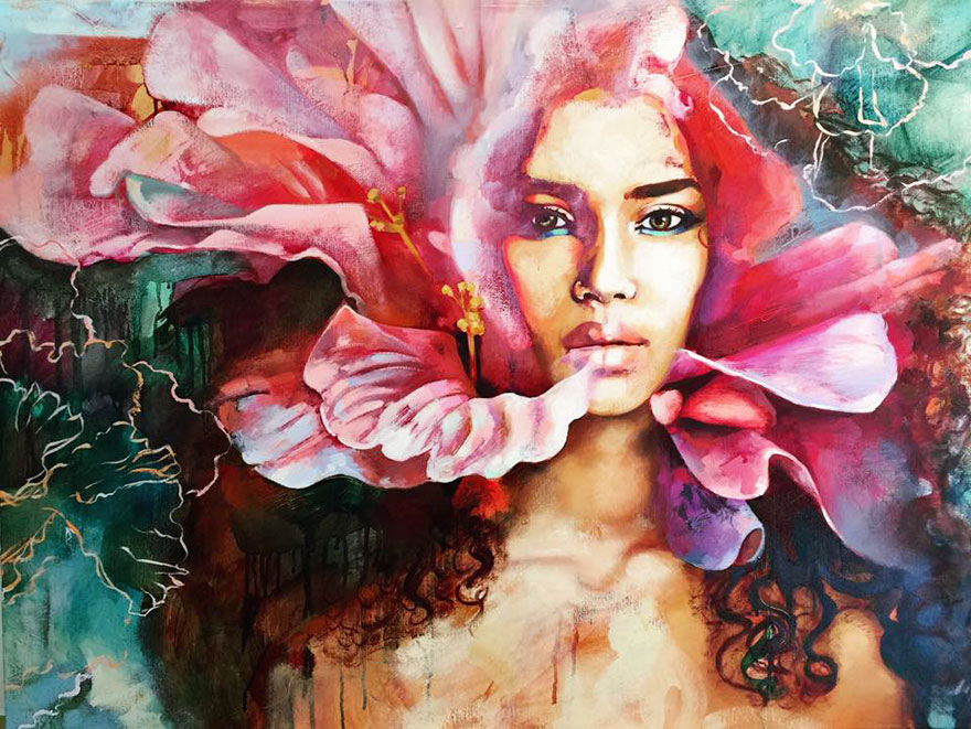 16-year-old-young-artist-surreal-painting-dimitra-milan 2