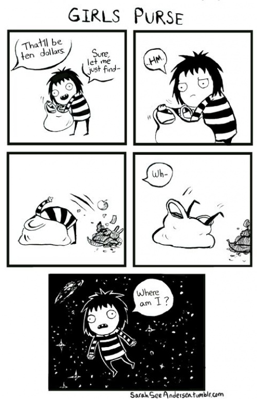 Comics Explain Everything About Being a Girl 1