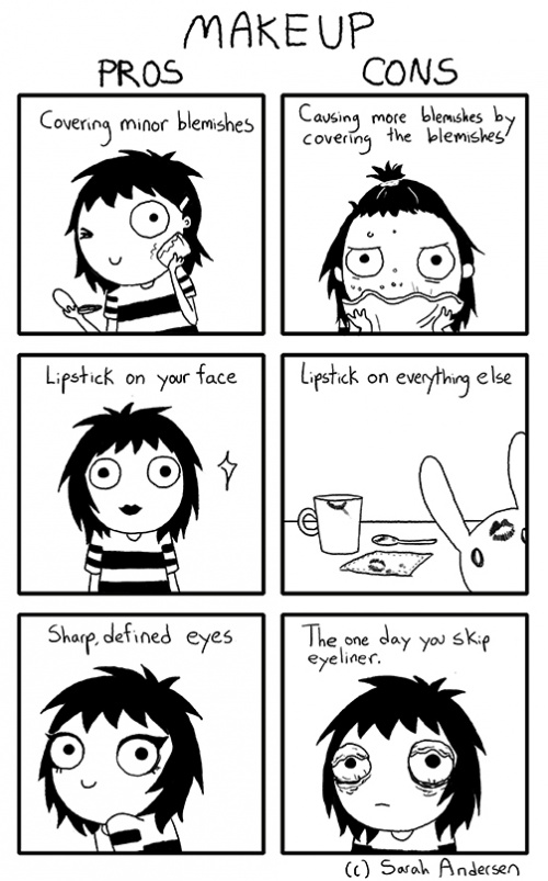 Comics Explain Everything About Being a Girl 23