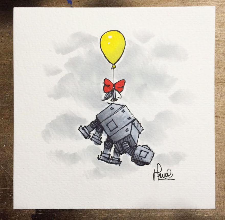 Illustrations Imagine Star Wars Characters As Winnie The Pooh And Friends 9