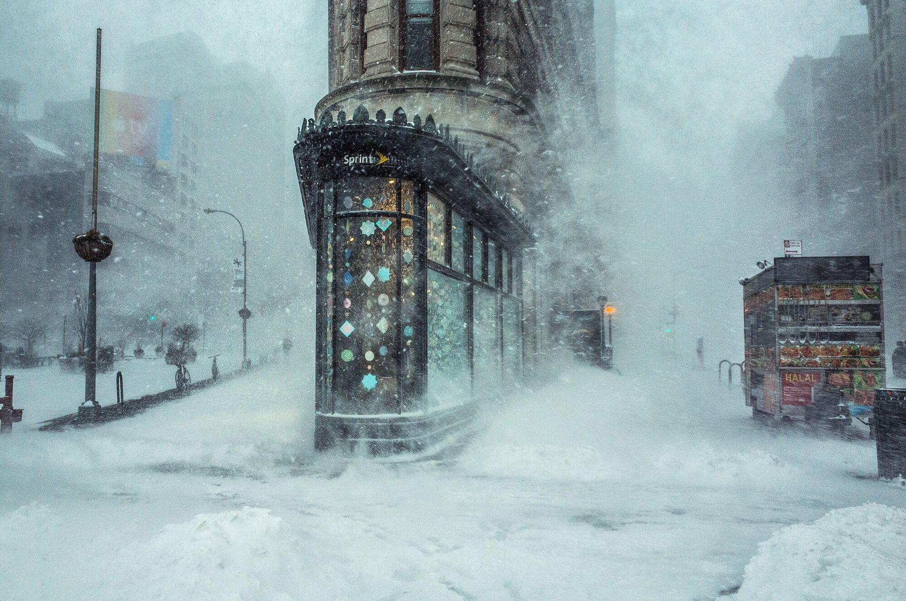 NYC Winter Storm blizzard 2016 photo by Michele Palazzo
