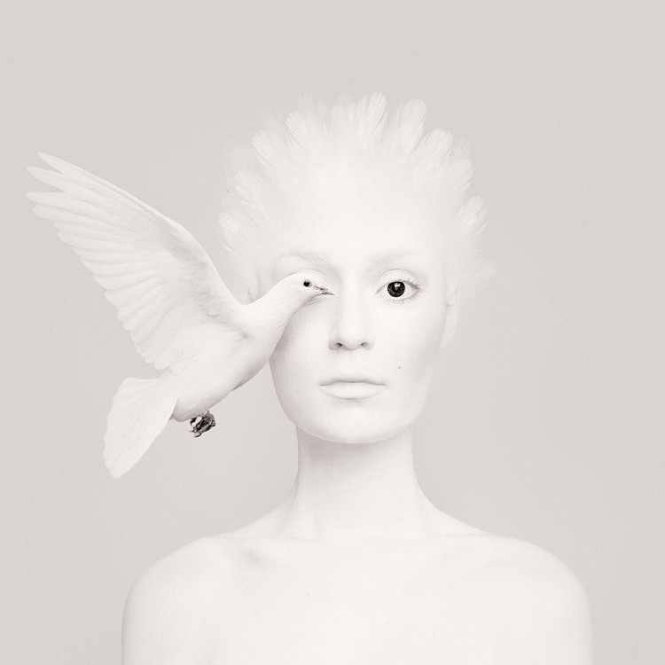 Self-Portraits Replace One Eye with an Animal 5