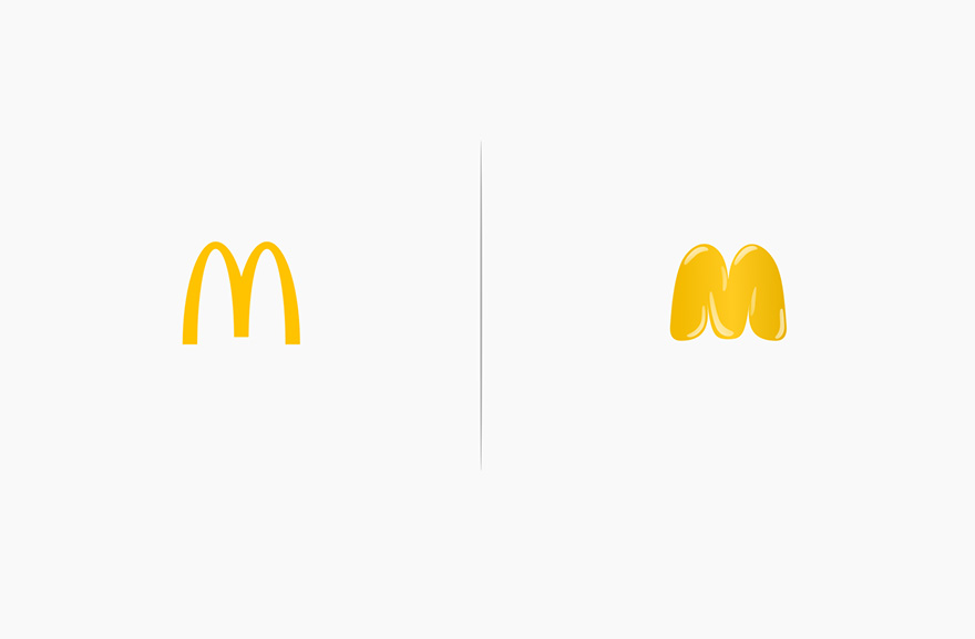 Famous Logos Affected By Their Products Funny Rebranding Marco Schembri 1