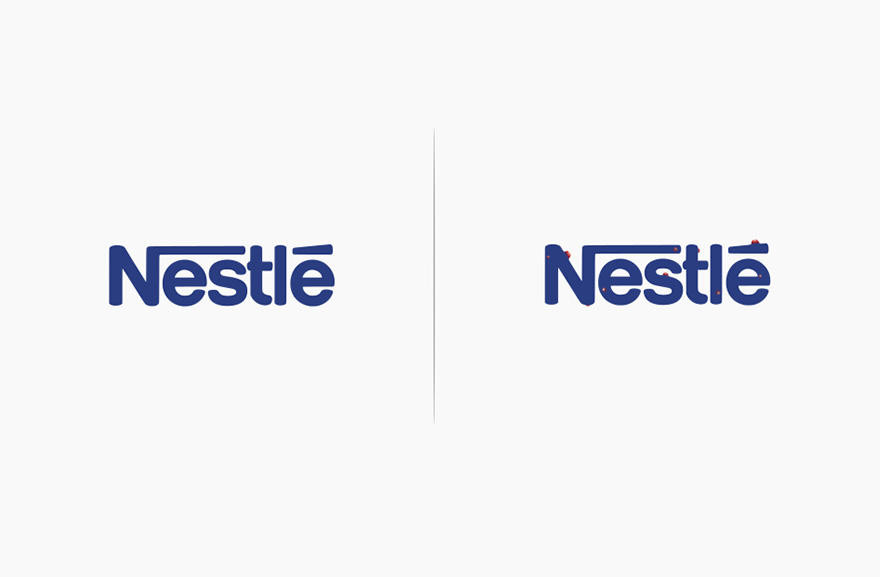 Famous Logos Affected By Their Products Funny Rebranding Marco Schembri 10