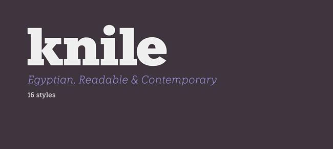 Knile Free Font