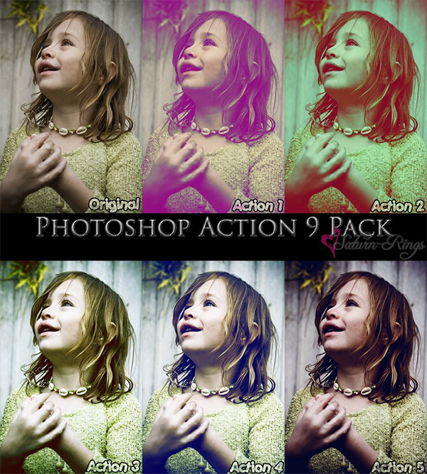 Awesome photoshop action pack