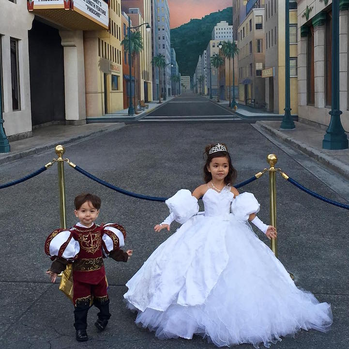 Disney Costumes for His Kids 11