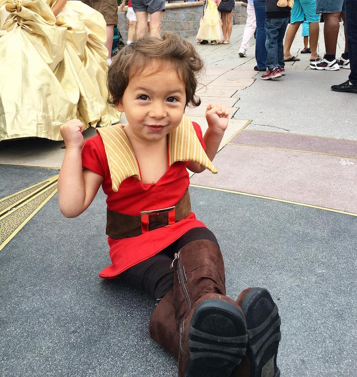 Disney Costumes for His Kids 13
