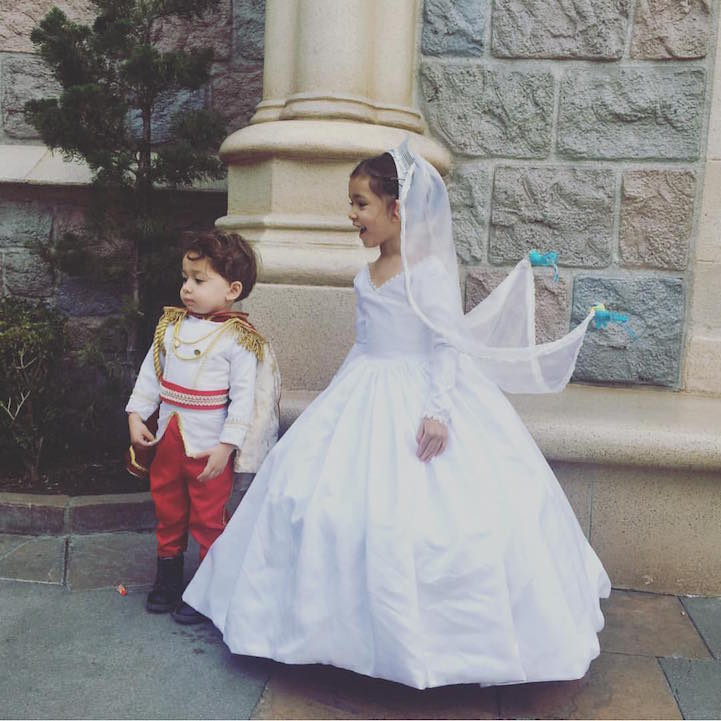 Disney Costumes for His Kids 3