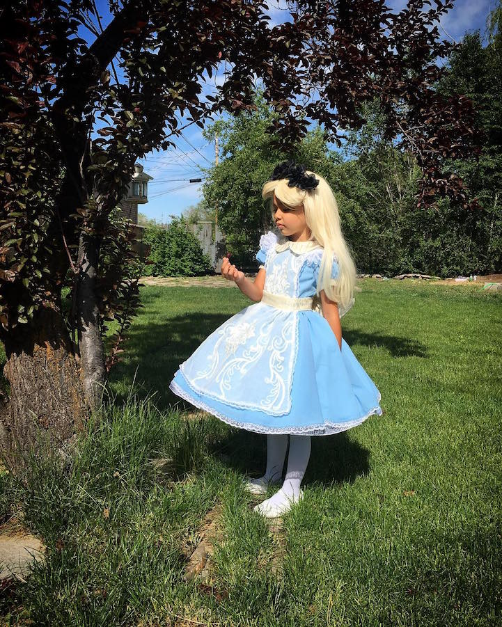 Disney Costumes for His Kids 7