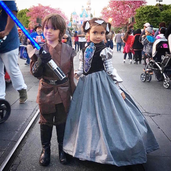 Disney Costumes for His Kids 9