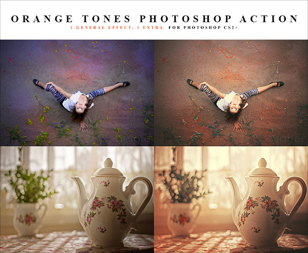 PS Action for orange Image tones