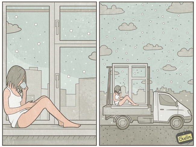 clever life illustrations by anthony gudim 18