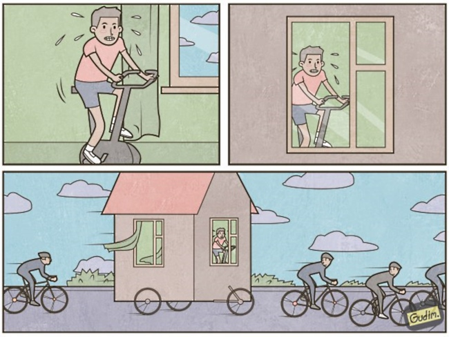 clever life illustrations by anthony gudim 9