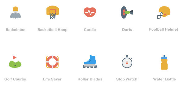 sporties-icon-set