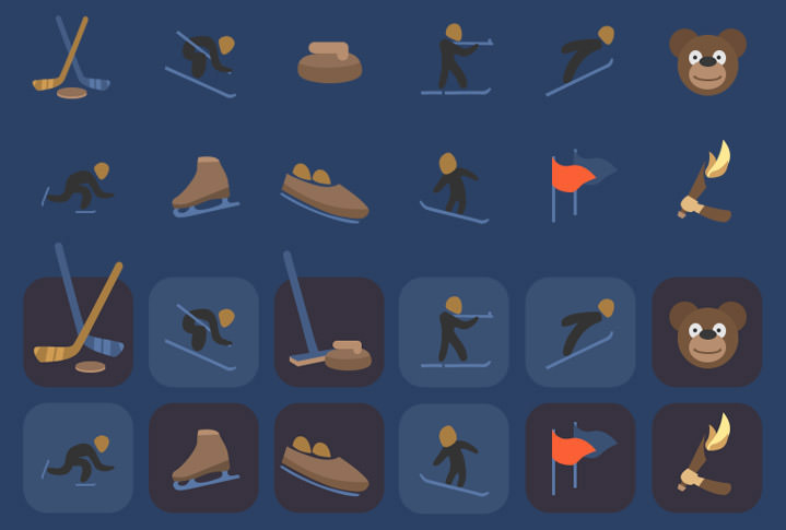 winter-sports-icons