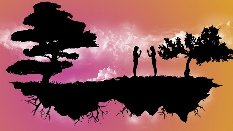 peace-girls-vector-background