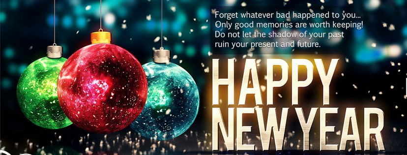 cebook Cover Photo Happy New Year