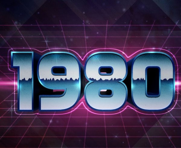 How to create 1980s Text Effect in Adobe Photoshop
