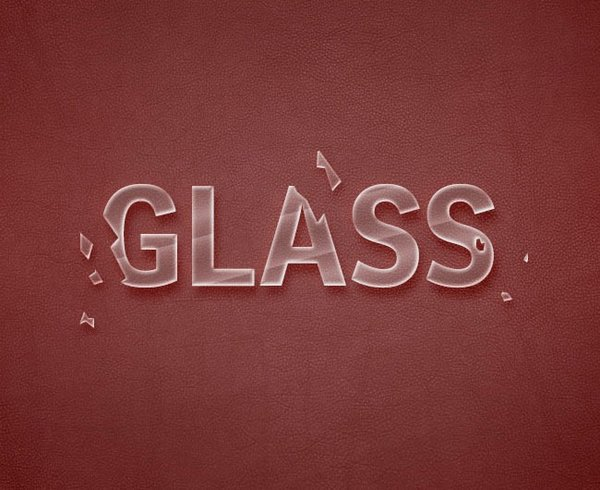 How to Create Broken Glass Text Effect in Adobe Photoshop