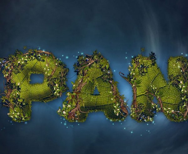 Create a Nature-Inspired Peter Pan Text Effect Photoshop Tutorial