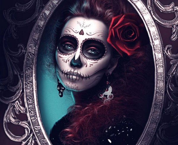 How to Create a Glamorous Calavera Portrait