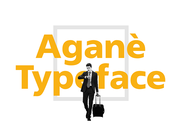 Agane Free Font for User Interface Design
