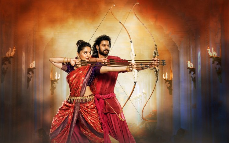 Prabhas and Anushka Shetty Baahubali 2 Wallpapers Photos
