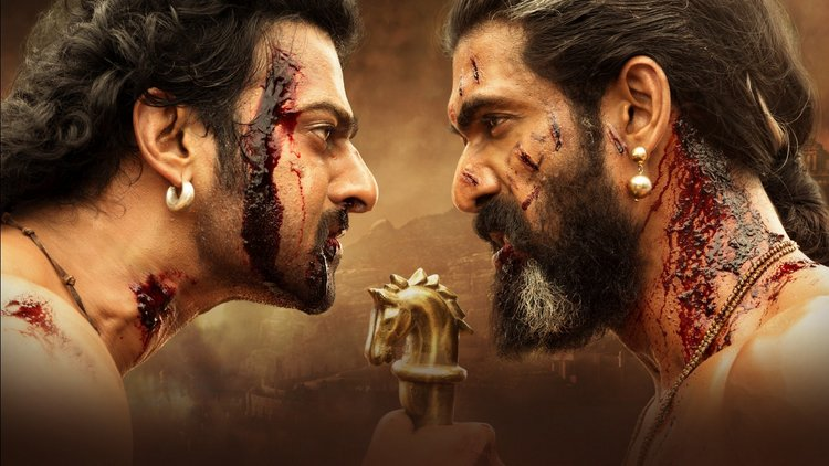 Prabhas and Rana Daggubati Baahubali 2 Wallpaper 2017