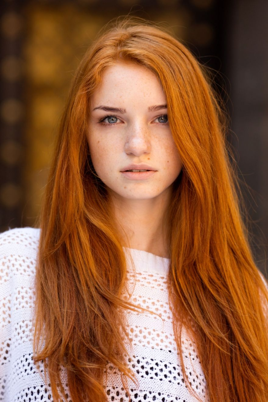 Alina From Odessa, Ukraine-portraits natural red hair photos