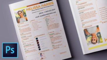 10 Graphic Design Tips for Create a Resume Layouts in Photoshop