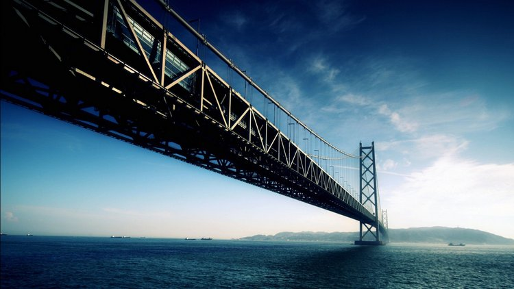 Akashi Kaikyo Bridge Japan