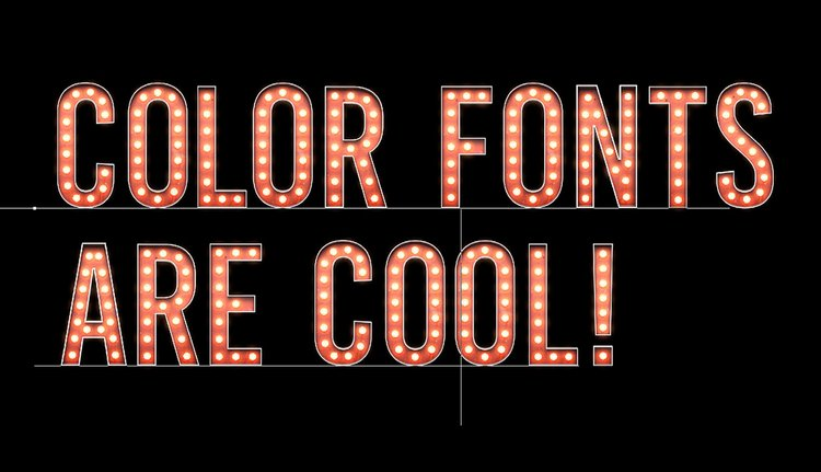 Create a Color Font in Photoshop Using Fontself