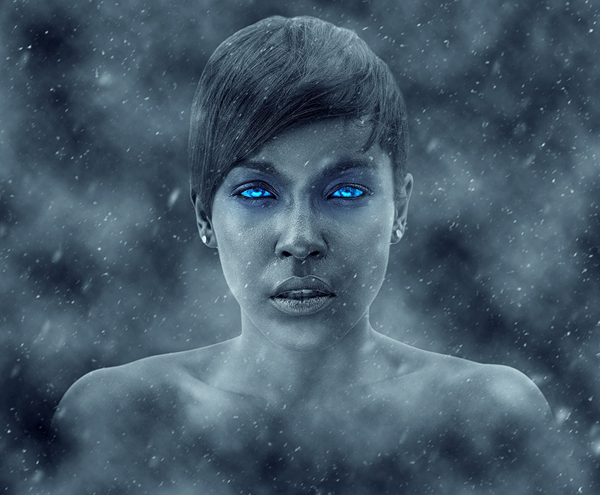 Create a Frozen Winter Adobe Photoshop Effect Action