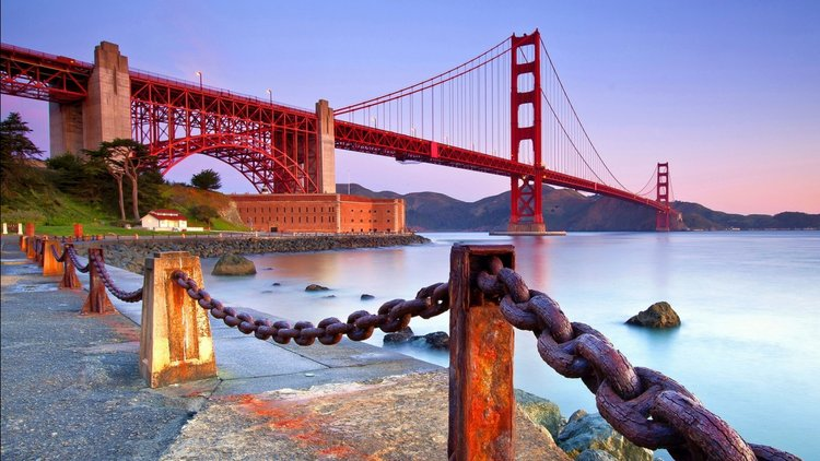 Golden Gate Bridge Coast Bridge Wallpapers