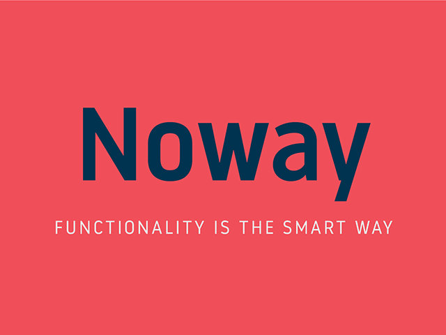 Noway Minimalistic Free Fonts Download for Design Projects
