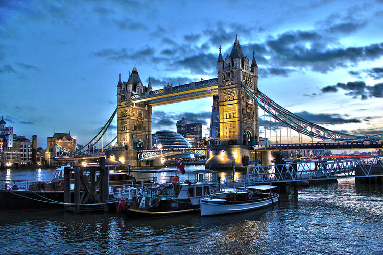 Tower Bridge, London HDR