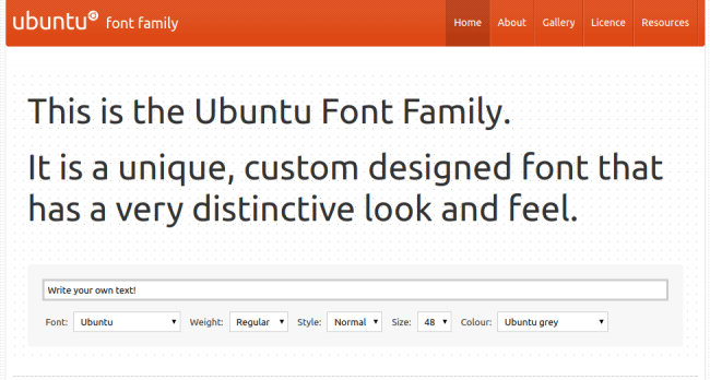 Ubuntu Minimalistic Free Fonts Download for Design Projects