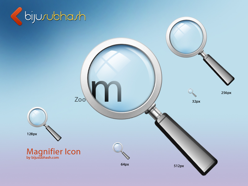 Magnifying Glass Search Icons Sets