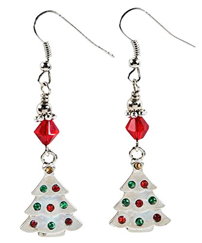 Christmas Tree Earrings Cookie Candy Stocking Dangle