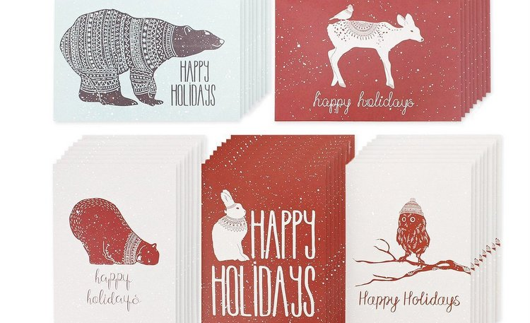Cute Christmas Greeting Cards Holiday