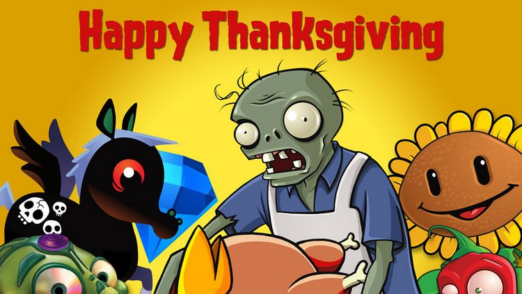Happy Thanksgiving Drawing Wallpaper HD Widescreen